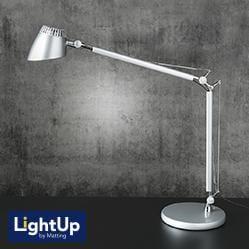 Valencia lampa silver