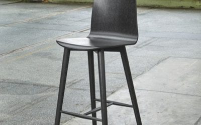 Nam Nam Wood Bar Stool