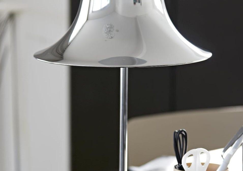 PANTOP TABLE LAMP CHROME