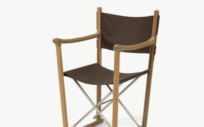 Classic Stol, Teak/Bøffelbrun læder