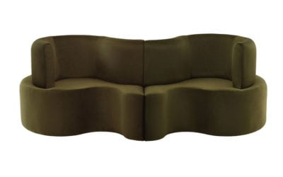 CLOVERLEAF SOFA – 2 UNITS