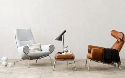 Lounge sofa og stol – Erik Jørgensen