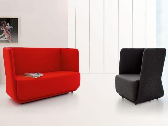 Basket sofa og stol - lav