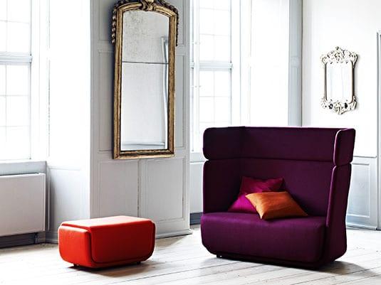 Basket sofa.