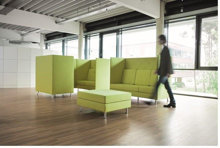 Dauphin Atelier lounge miljø