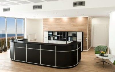 Skranke / Receptioner