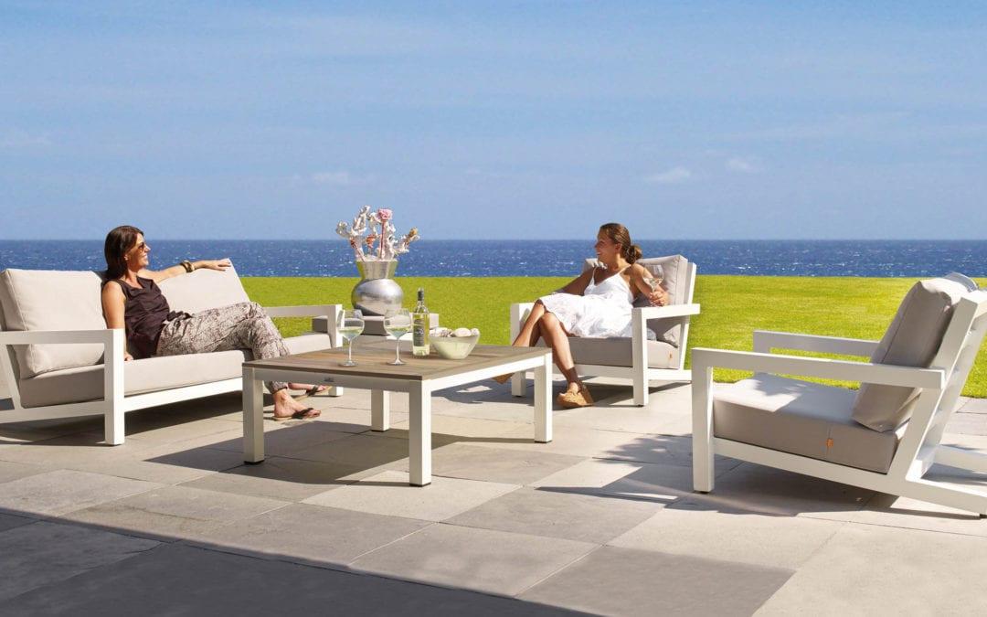 Block sofa sæt i lava hvid