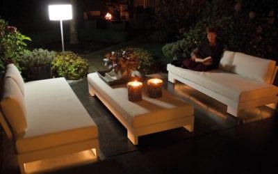 Cube sofa sæt m/lys