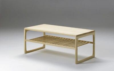Sofabord med hylde