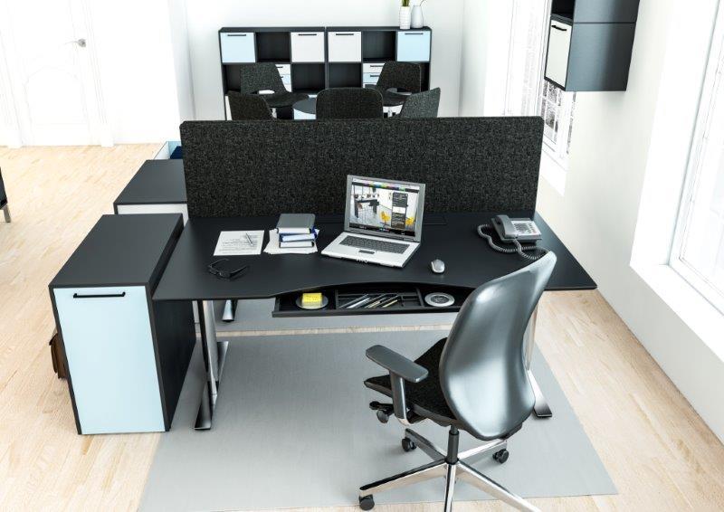 Moderne skrivebord – hæve sænke