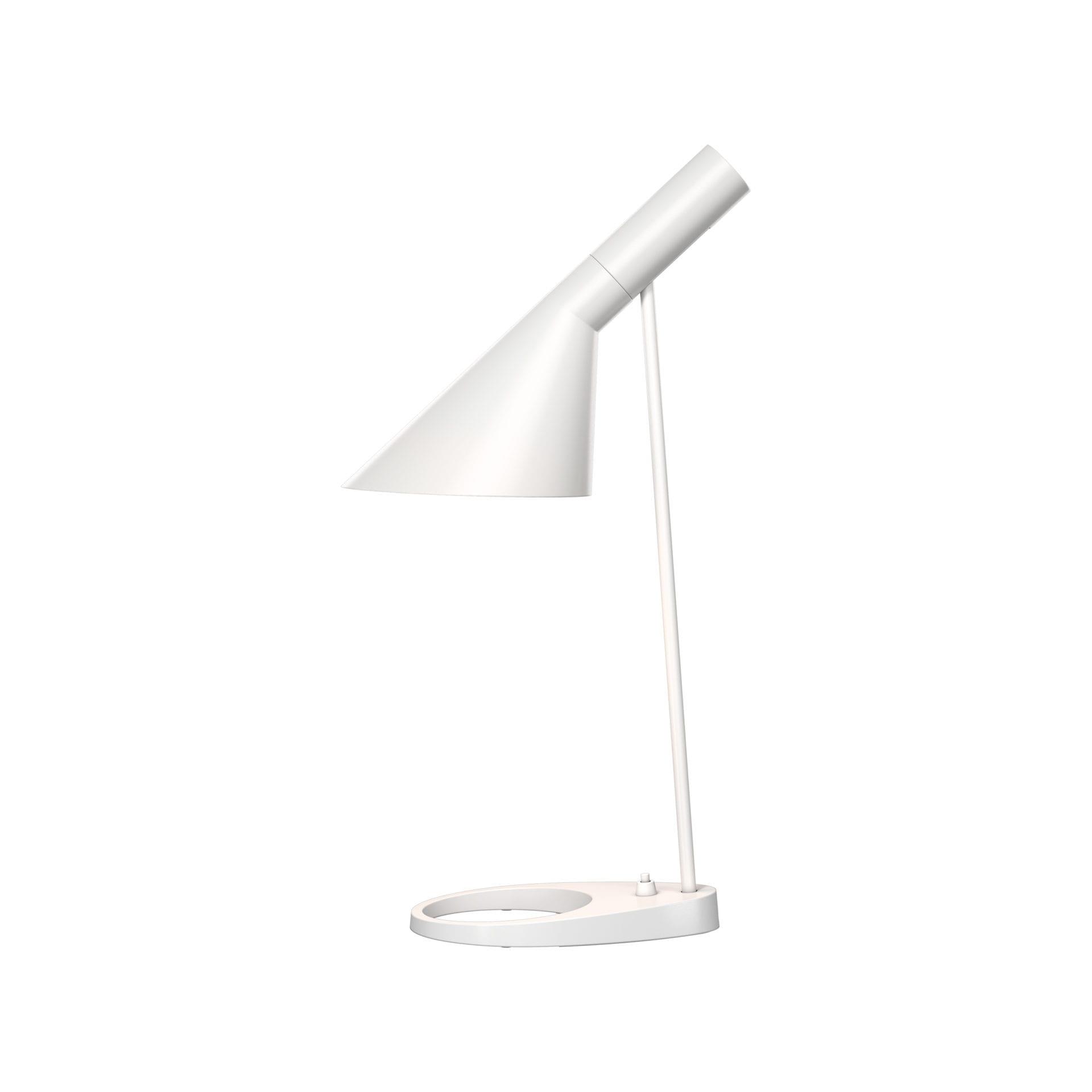 AJ Bordlampe-Hvid