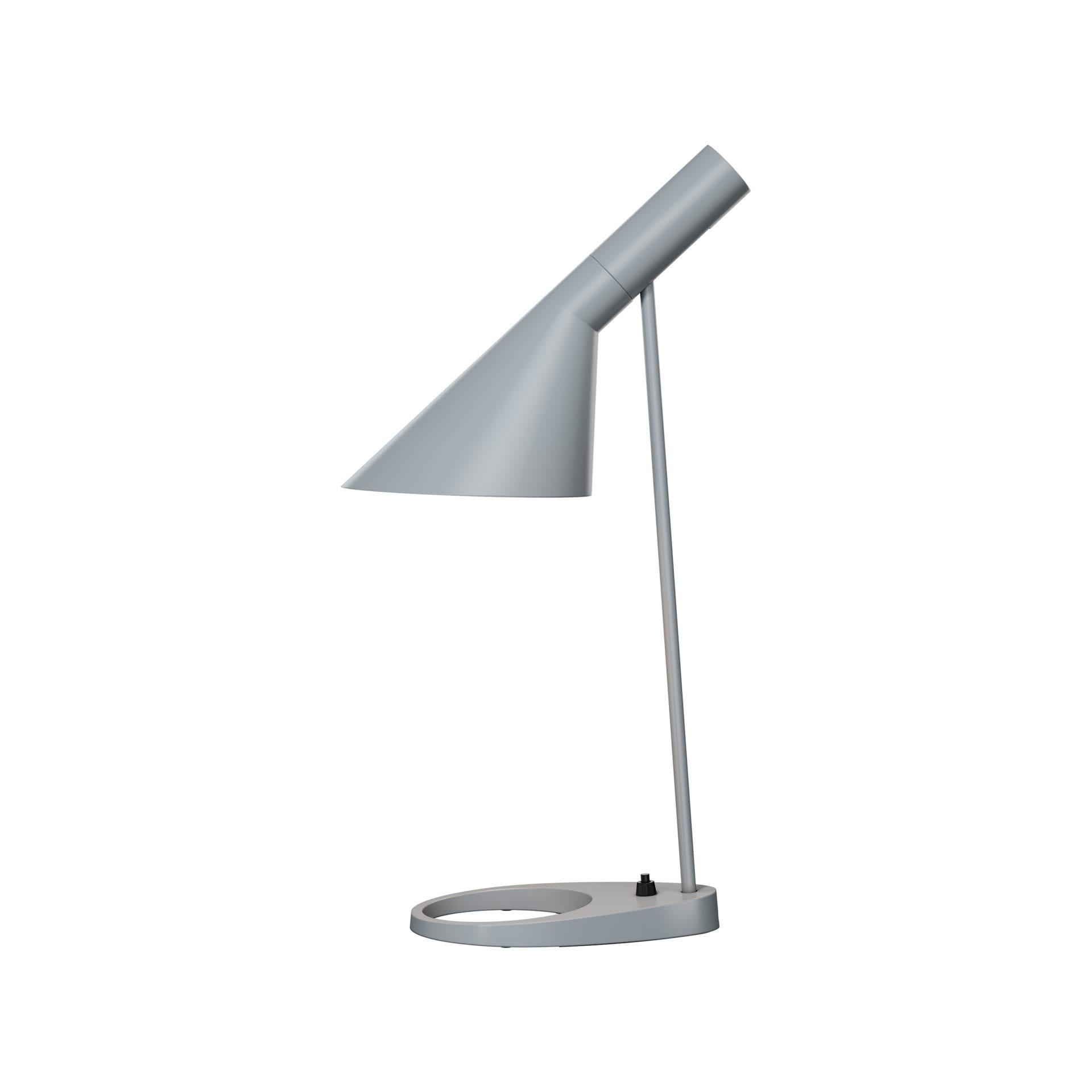 AJ Bordlampe-Lysgrå