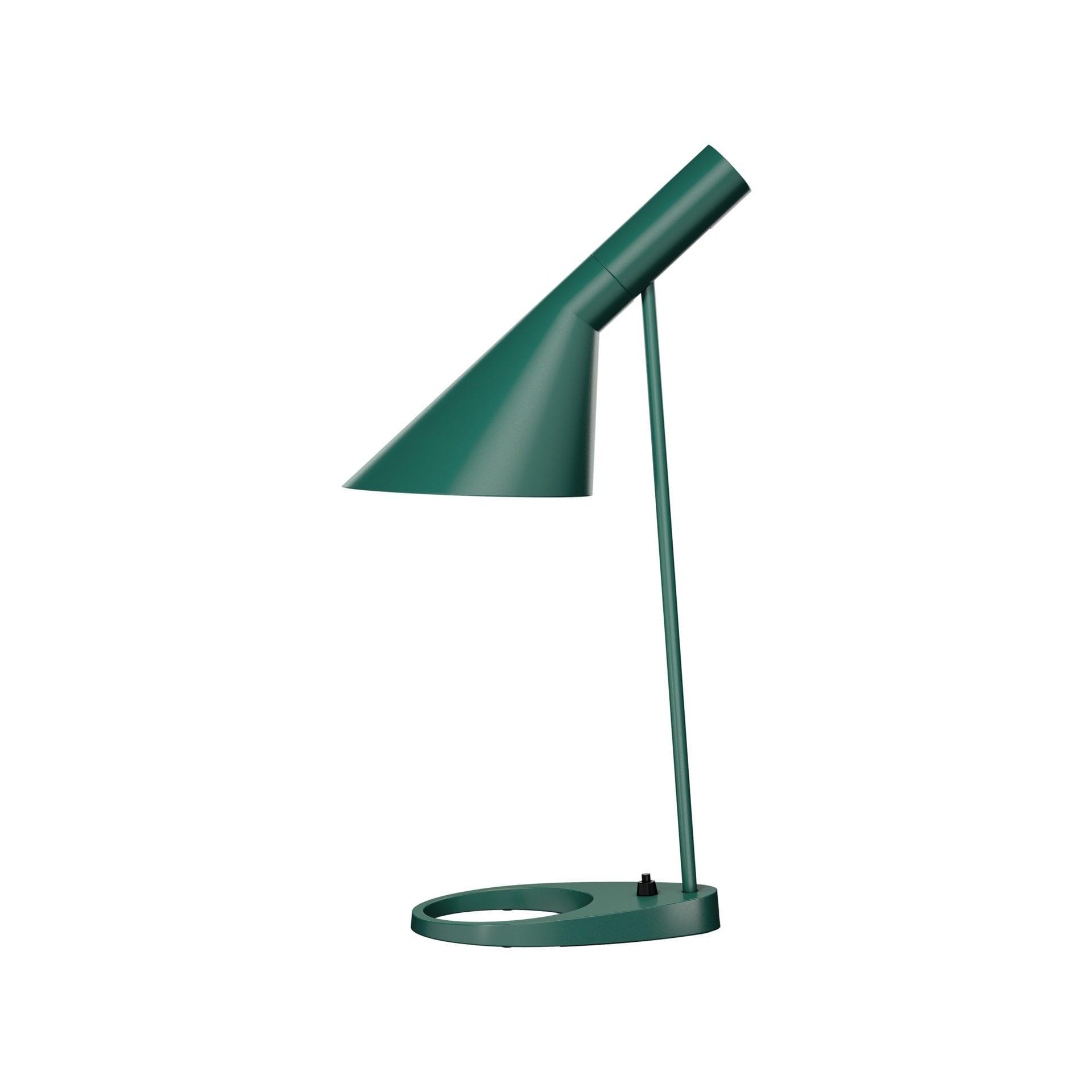 AJ Bordlampe-Mørkgrøn